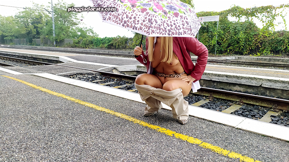 pisciata alla stazione pioggiadorata