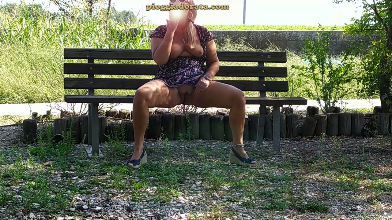 pissing in public