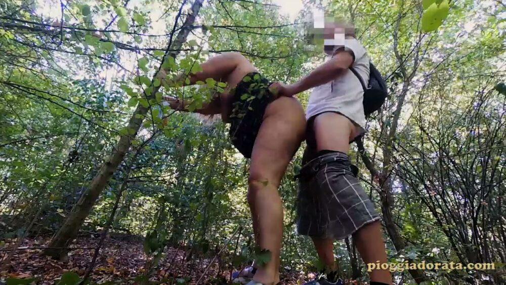 inculata nel bosco